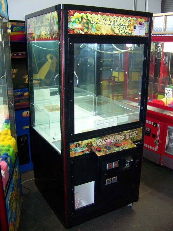 "Lot 31 - 32"" TREASURE BOX PLUSH CLAW CRANE MACHINE"