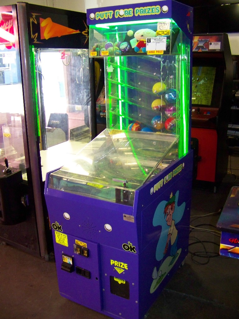 PUTT FORE PRIZES INSTANT REDEMPTION GAME OK MFG. - Image 2 of 3