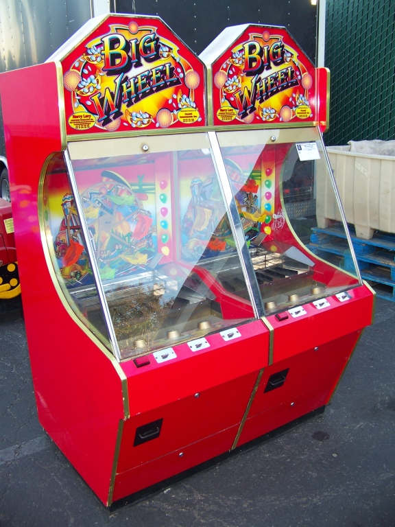 Lot 17 - BIG WHEEL TICKET REDEMPTION PUSHER ARCADE