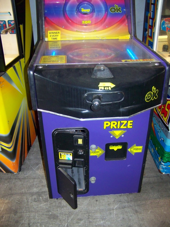 SKITTLEBALL INSTANT PRIZE VENDING MACHINE OK MFG - Image 3 of 4