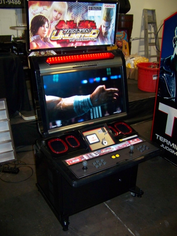 Lot 232a   TEKKEN TAG 2 TOURNAMENT UNLIMITED NAMCO NOIR CAB