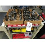(Lot) Tool Holders w/ Tool Cabinet