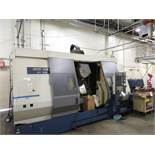 """(2000) Mori Seiki mod. MT253/1000, 20""""/28"""" x 48"""" 5-Axis CNC Turning and Milling Center, Top 2-Axis"""