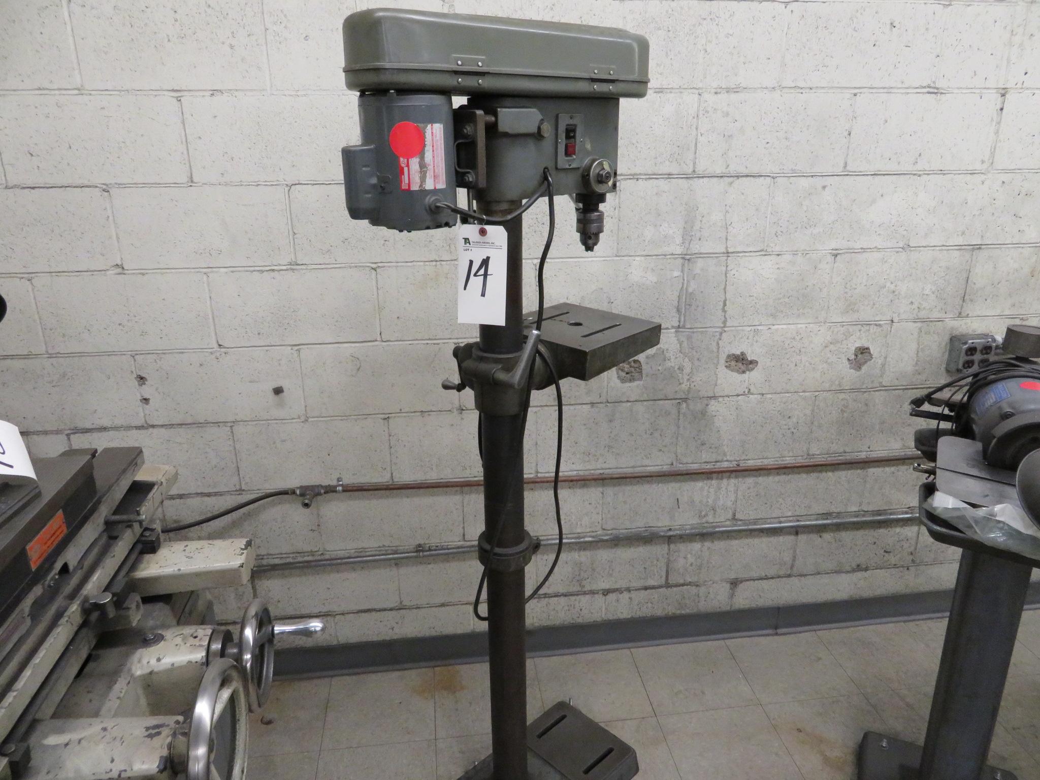 Ashina 1/2hp Pedestal Drill Press - Image 2 of 2