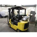 Caterpillar mod. GC25, 5,000lb. Forklift w/ Propane (Late Pickup)