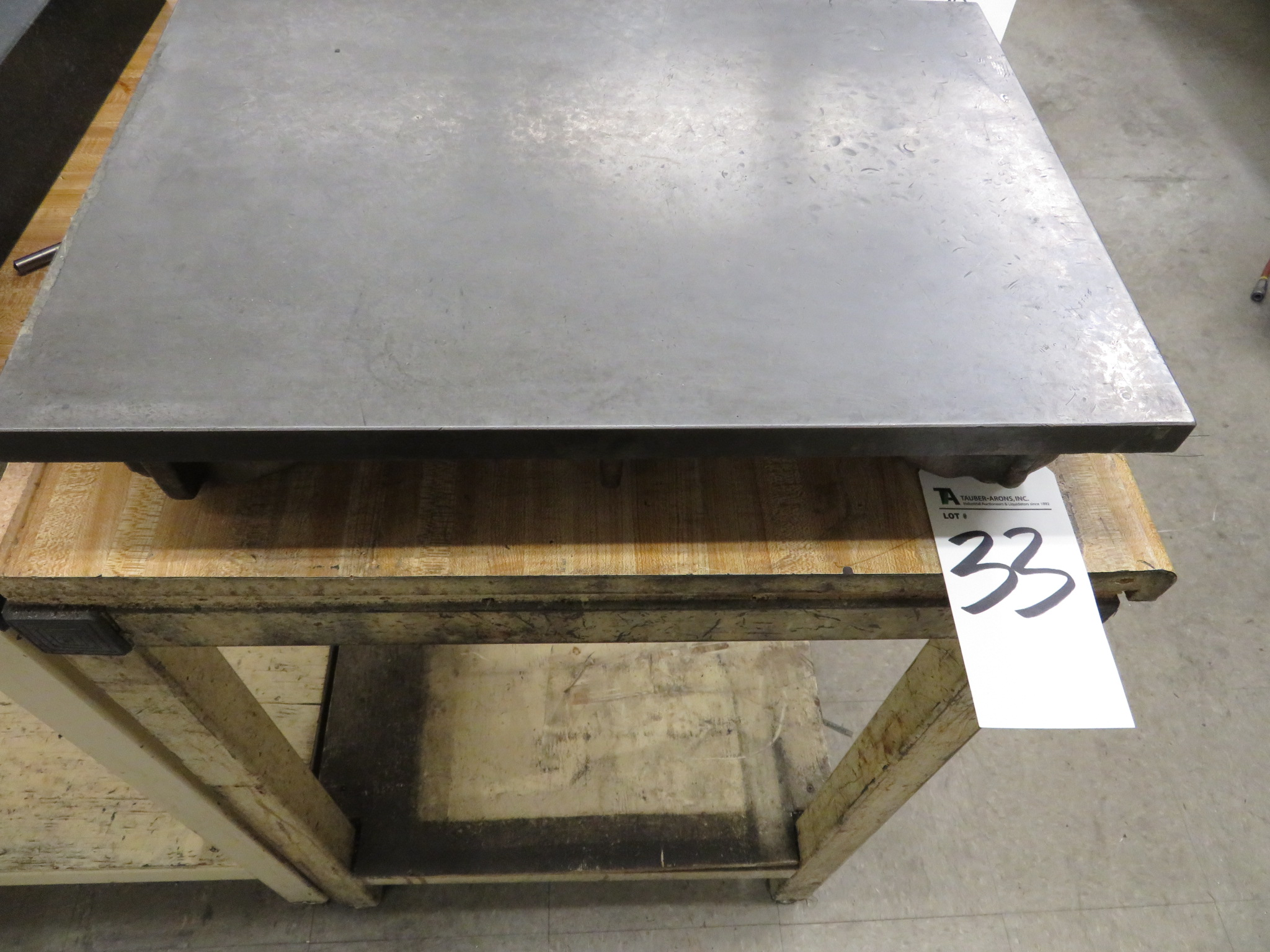 """15"""" x 21"""" Steel Surface Plate"""