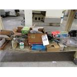(Lot) Assorted Contents Under Bench