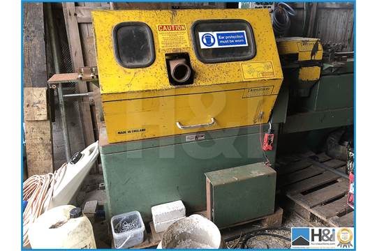 Dominion Midas 4 sided planer with pre-straightening table