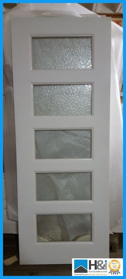 Havanna glazed tempered glass interior door size 78 x for 18 inch interior glass door