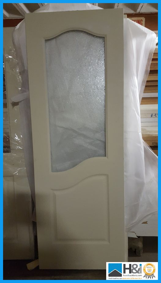 Roma Glazed Tempered Glass Interior Door Size 78 X 28 Inch Rrp Appraisal Viewing Es