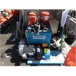 Vickers Hydraulic Pump, With (2) Motors, Baldor 3 HP, 230/460V, US Motor 7.5 HP, 230/460 V