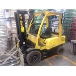 HYSTER Forklift, Model H50FT, S/N G447698, 2500kg/5500lb Capacity, Forks Not Included