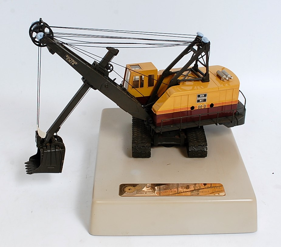 A Classic Construction Models (CCM) 1/48 scale brass factory built model of a Bucyrus Erie 88-B