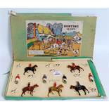 A Britains Hunt Series No. 234 1950s boxed set titled The Meet, comprising of 18 various figures