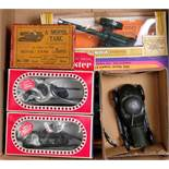 A quantity of boxed and loose Britains, Siku, Corgi Toys and other military diecasts to include a