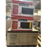Microwaves, 3 Items