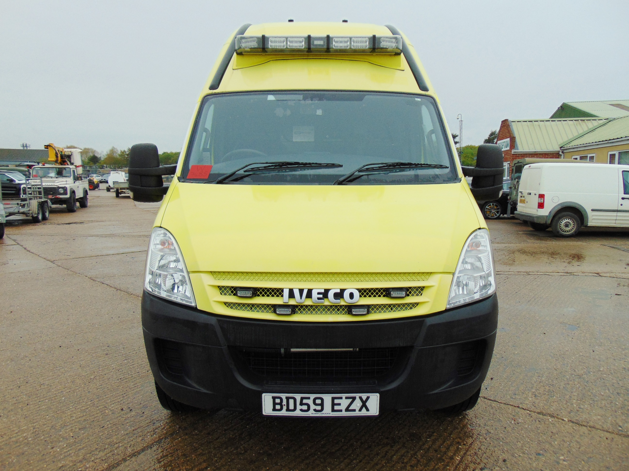 Lot 8 - 2010 Iveco Daily 65C18 3.0 HPT Long Wheel Base High roof panel van ONLY 4,618 Miles!!