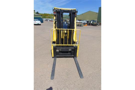 Lot 34 - Hyster 2.50 Diesel Forklift ONLY 763.4 hours!!