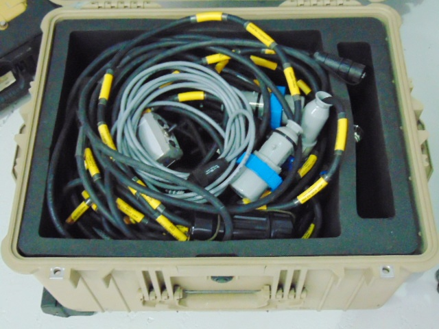Lot 41 - Clark 15m Demountable CCTV Mast Assy with Accessories and Cover