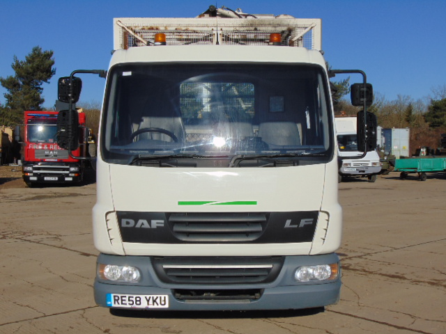 Lot 14 - 2008 DAF LF 45.140 C/W Refuse Cage, Rear Tipping Body and Side Bin Lift