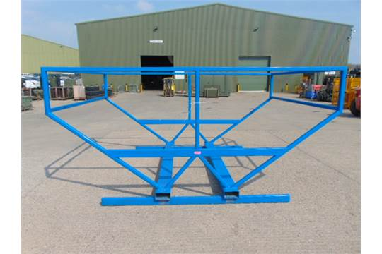 Lot 48 - Large Irrigation Pipe Storage Frame with Forklift Points