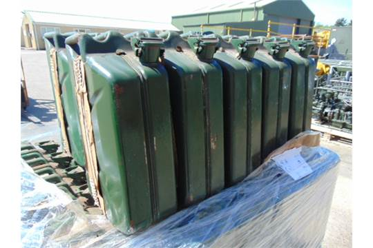 Lot 42 - 50 x Unissued NATO Issue 20L Jerry Can