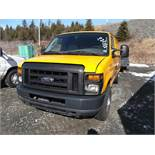 2008 FORD E250 VAN 154919KMS, RUNS WITH A BOOST, 5.4 LITRE, AUTOMATIC, AC, POWER STEERING, POWER