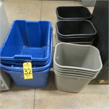 TRASH CANS & TOTES