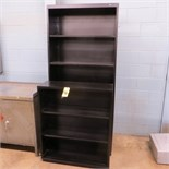 6-1/2 & 3-1/2 FT METAL BOOK CASES