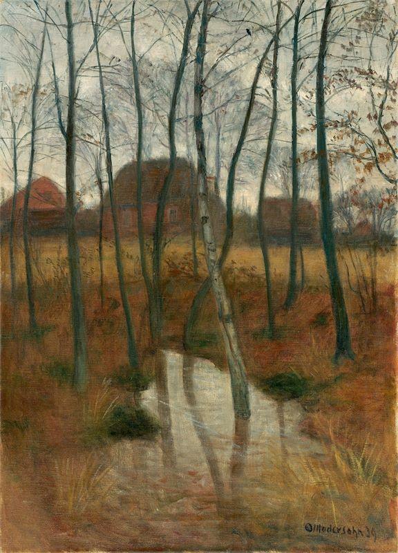 Otto Modersohn (Soest 1865 – 1943 Rotenburg (Wümme))