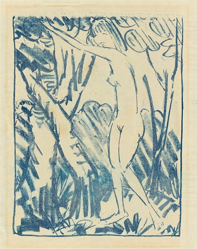 Otto Mueller (Liebau/Schlesien 1874 – 1930 Breslau) - Bild 2 aus 2