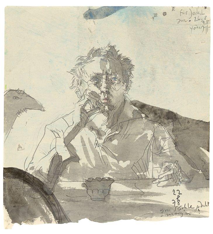 Horst Janssen (1929 – Hamburg – 1995)