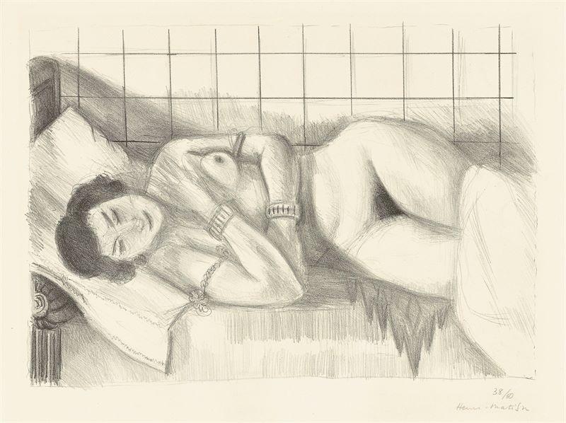 Henri Matisse (Le Cateau-Cambrésis 1869 – 1954 Nizza)