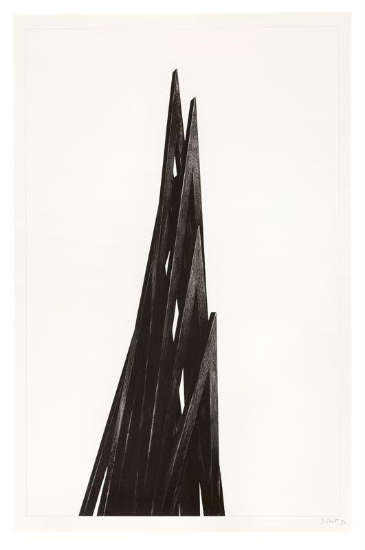 Bernar Venet (Château-Arnoux-Saint-Auban 1941 – lebt in New York und Südfrankreich)