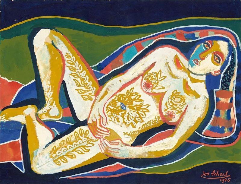 Josef Scharl (München 1896 – 1954 New York)