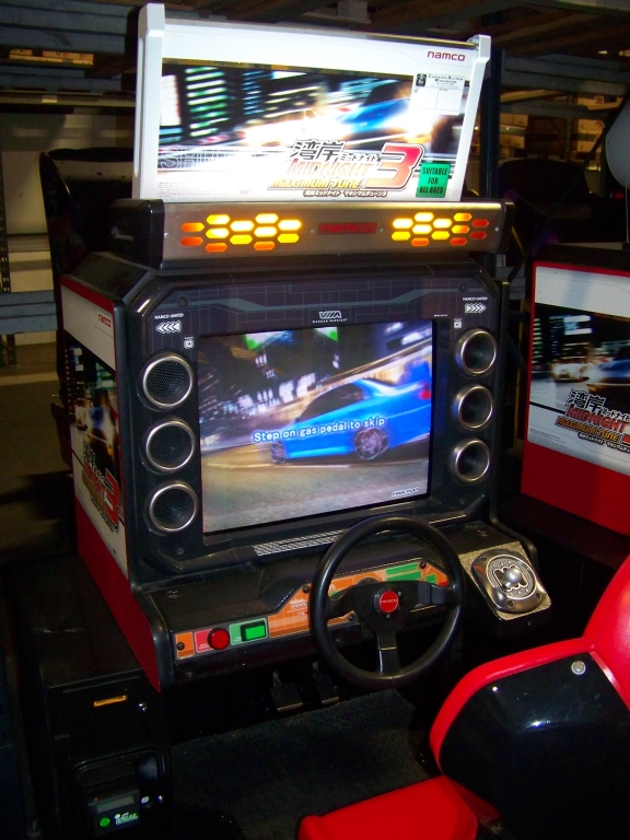 Lot 128 - MAXIMUM TUNE 3 MIDNIGHT DRIVER ARCADE GAME NAMCO