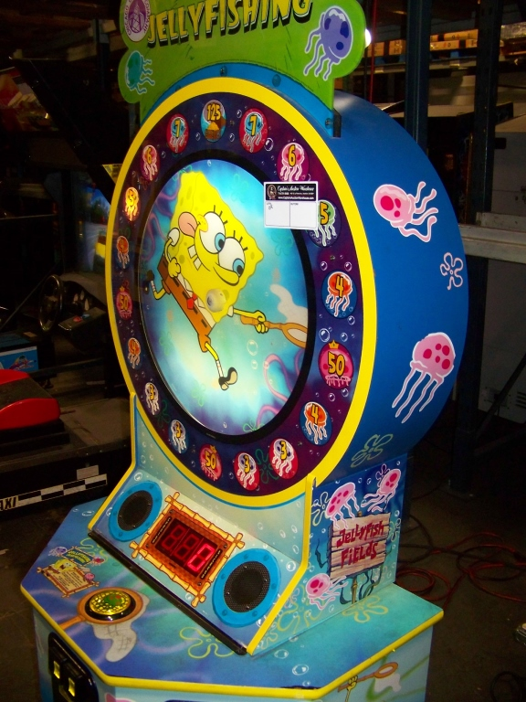 Lot 157 - SPONGE BOB JELLY FISHING TICKET REDEMPTION GAME