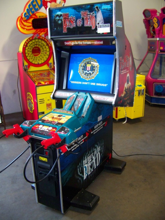 Lot 126 - THE HOUSE OF THE DEAD SHOOTER ARCADE GAME SEGA