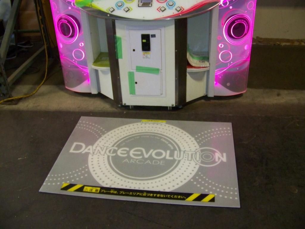 Lot 139 - DANCE EVOLUTION DANCE ARCADE GAME KONAMI 2016