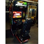 FAST & FURIOUS SITDOWN DRIVER ARCADE GAME LCD