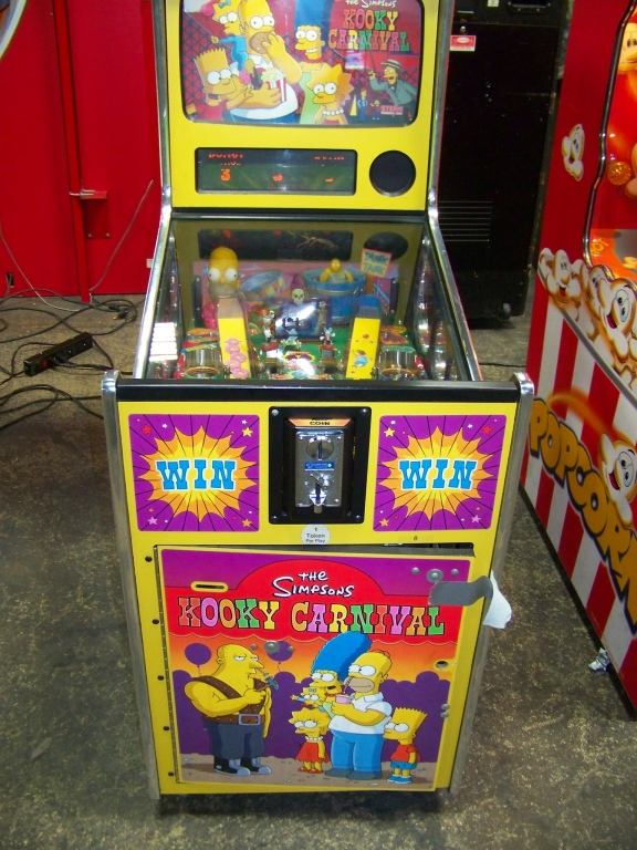 Lot 155 - SIMPSONS KOOKY CARNIVAL TICKET REDEMPTION GAME