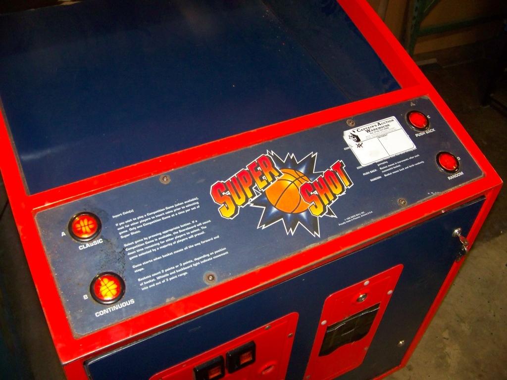 Lot 143 - SUPER SHOT BASKETBALL SPORT REDEMPTION GAME