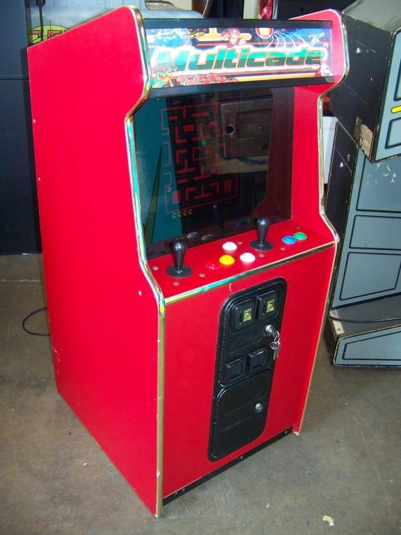 Lot 121 - MULTICADE MINI 60 IN 1 CLASSIC ARCADE GAMES LCD