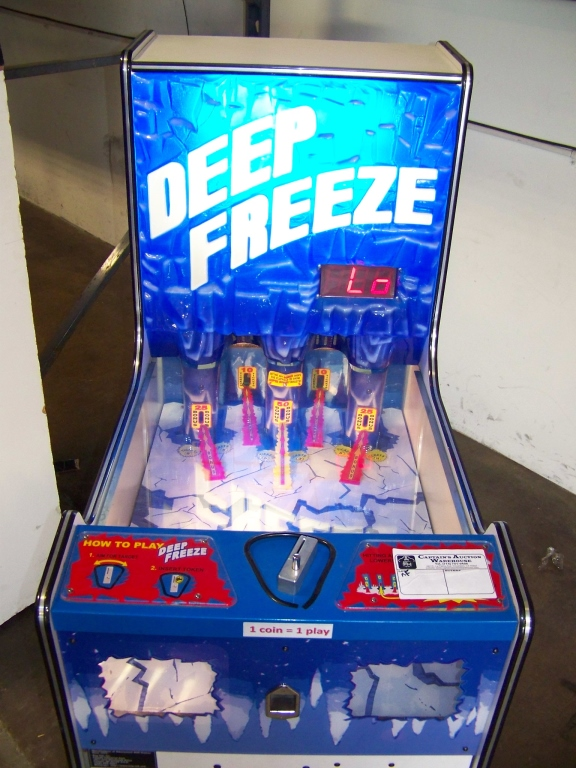 Lot 161 - DEEP FREEZE TICKET REDEMPTION GAME BAYTEK