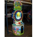 SPONGE BOB JELLY FISHING TICKET REDEMPTION GAME