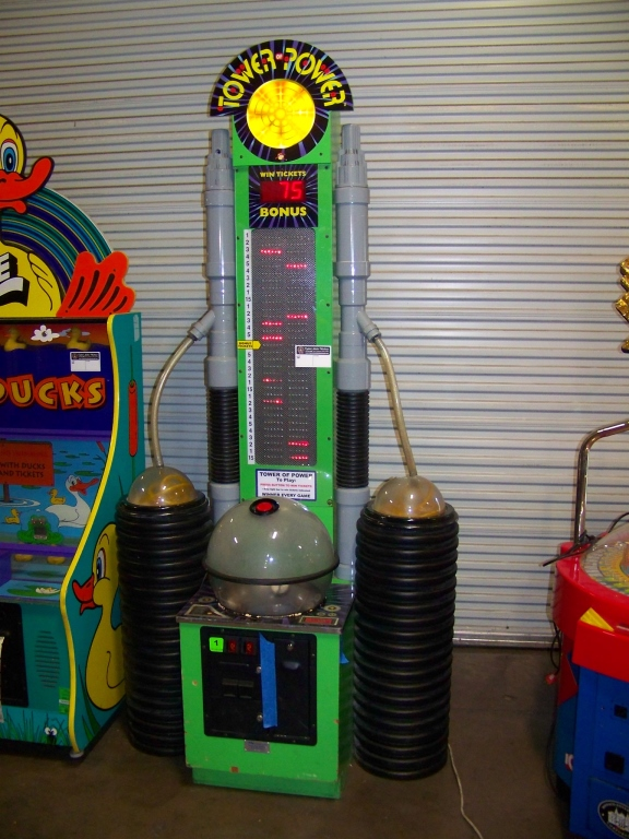 Lot 150 - TOWER OF POWER TICKET REDEMPTION GAME SKEEBALL