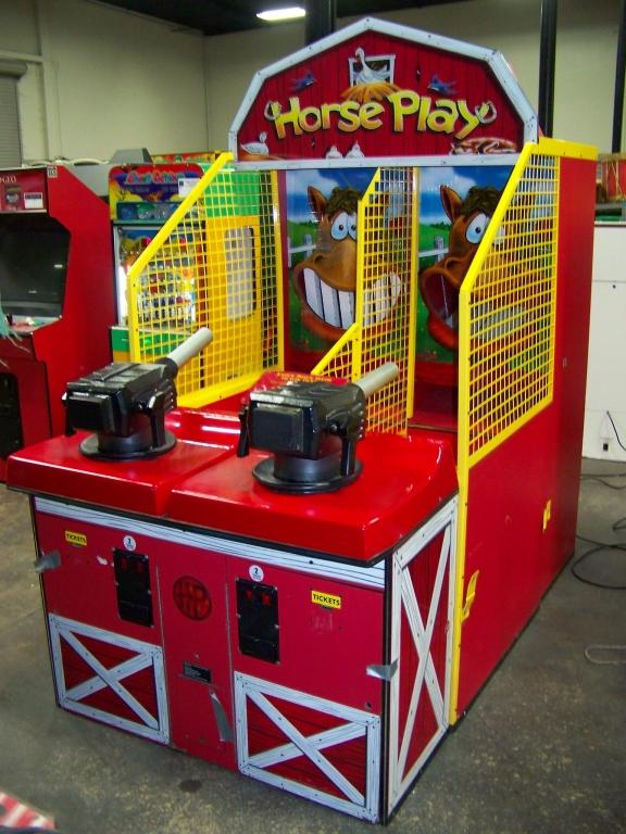 Lot 158 - HORSE PLAY BALL SHOOTER REDEMPTION GAME BAYTEK