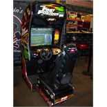 FAST & FURIOUS SITDOWN RACING ARCADE GAME