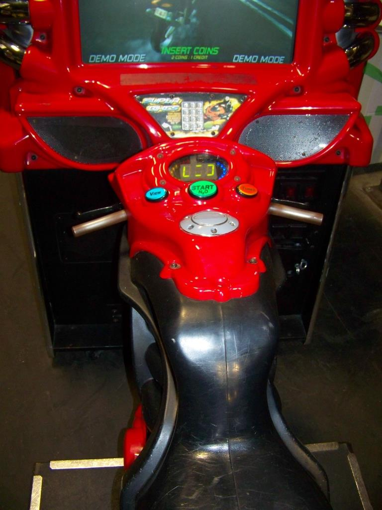Lot 136 - SUPER BIKES FAST AND FURIOUS RACING ARCADE GAME