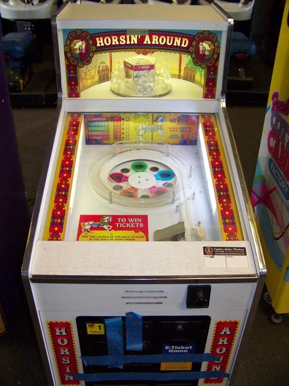 Lot 164 - HORSIN AROUND TICKET REDEMPTION GAME SEIDEL